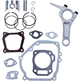 68MM Piston Ring Connecting Rod Engine Full Gasket Set for Honda GX160 GX 160 5.5HP 4-Cycle Gas Engine Generator Water…