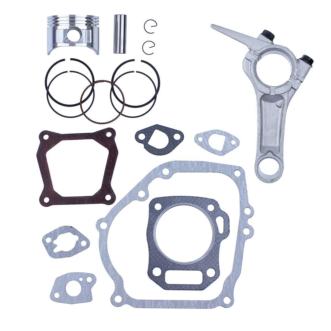 Ensemble de joint complet de moteur de bielle de piston danneau de 68MM pour Honda GX160 GX 160 5.5HP 4 temps g/én/érateur de moteur /à essence pompe /à eau