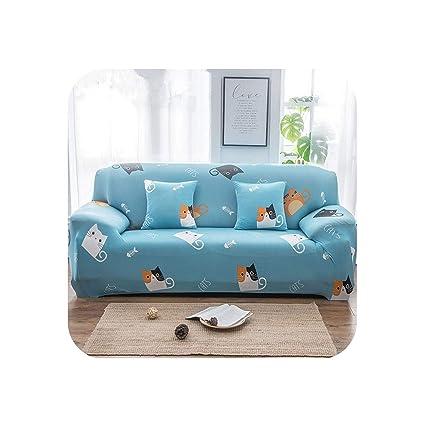 Amazon.com: Miracle day Kids Sofa Cover Cute Cat Cubre Sofa ...