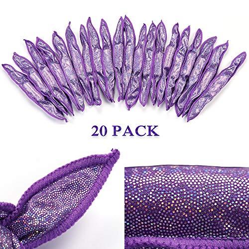 Flexible Foam Sponge Hair Rollers[20pcs], No Heat Hair Curlers Soft Sleep Pillow Hair Rollers Magic Hair Care DIY Styling Tools
