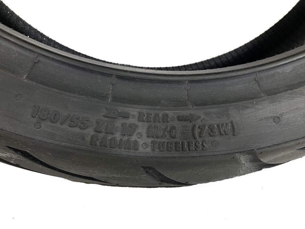 CONTINENTAL MOTION Tire Set 120//70zr17 Front /& 180//55zr17 Rear 180 55 17 120 70 17 2 Tire Set