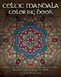 Celtic Mandala Coloring Book Relax With This Calming Stress Managment