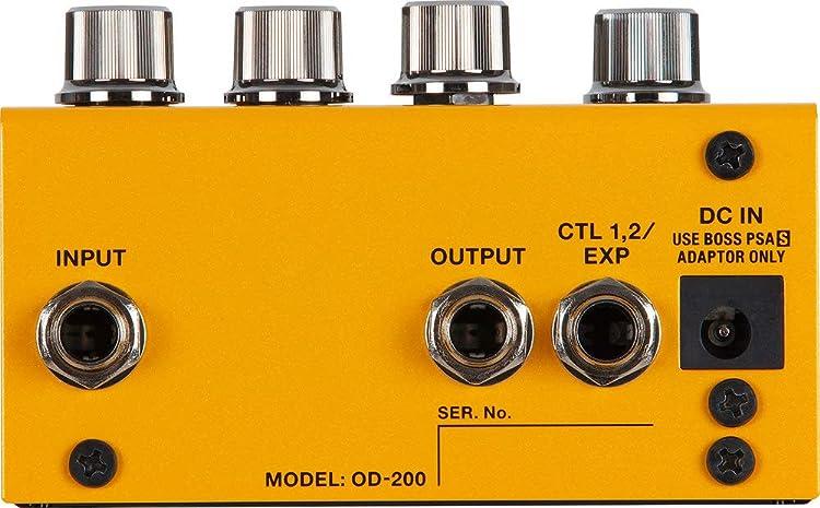 OD-200:リアパネル