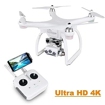 UPAIR Two dron cuadricóptero con cámara 3D 4K 2.4G Control Remoto ...
