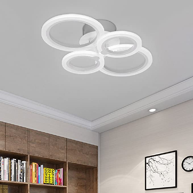 LED Ceiling Lamp Acrylic Modern Ceiling Lights Livingroom ...