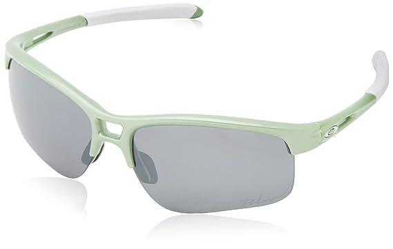 womens oakley rpm edge sunglasses  oakley rpm edge polarized iridium rectangular sunglasses,honeydew pearl,62 mm