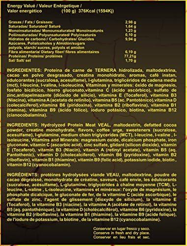 ISO Beef Protein 2kg Sabor Chocolate: Amazon.es: Salud y ...