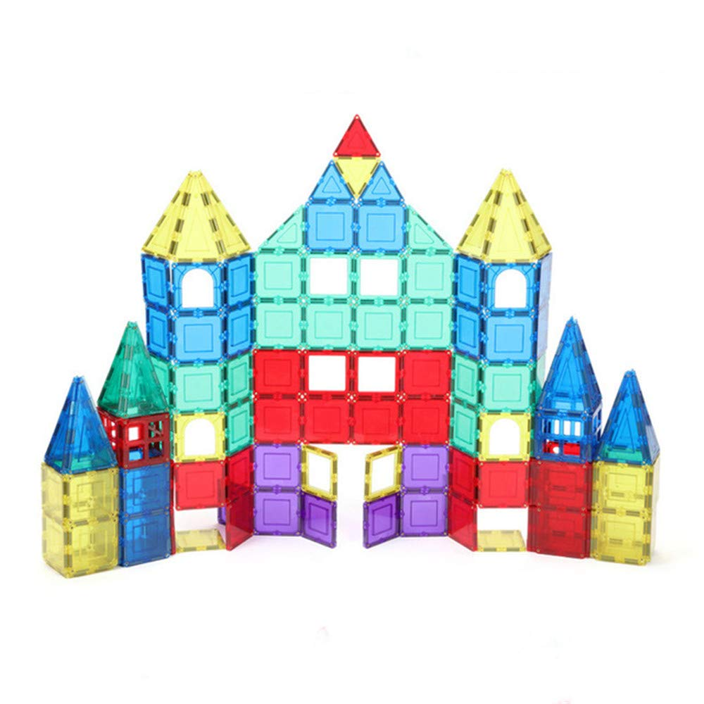 Zhangcaiyun Kids Toys Building Tiles Building Blocks Intellect Toy Set for Kids (Bag of 60 Pieces) Learning Toys Building Blocks Set