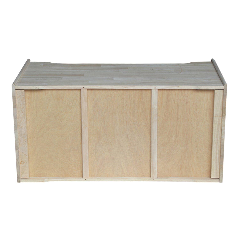 International Concepts Unfinished Storage Box, 38(W) x 419(L) x 23(H) by International Concepts (Image #6)