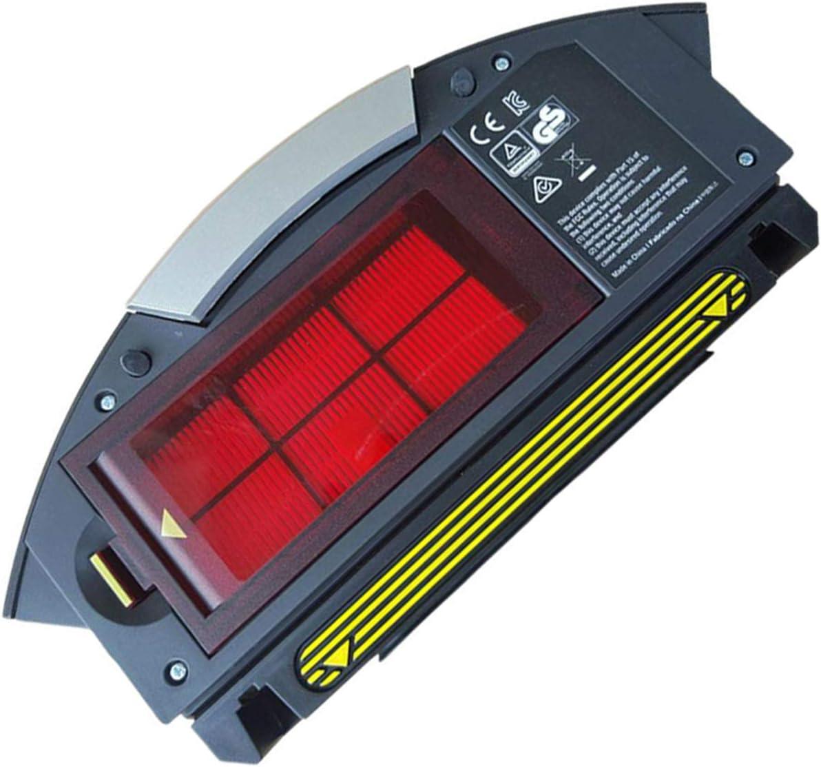 LICHIFIT Caja de Recogida de Polvo con Filtro Hepa para aspiradora iRobot Roomba 800 900 Series 870 860 880 960 980 Robot: Amazon.es: Hogar