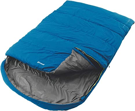 Outwell Campion Lux Double Sleeping Bag Blue x 2
