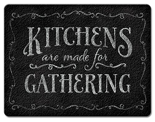 - Chalk It Up Kitchens are Made for Gathering Tempered Glass Large Cutting Board by Highland Graphics