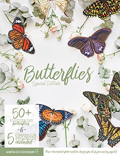 (Anita Goodesign Embroidery Machine Designs CD Special Edition Butterflies)