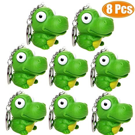 Novelty Party Favor Stress Hatching Dinosaur Egg Squeeze Stress Ball Toy