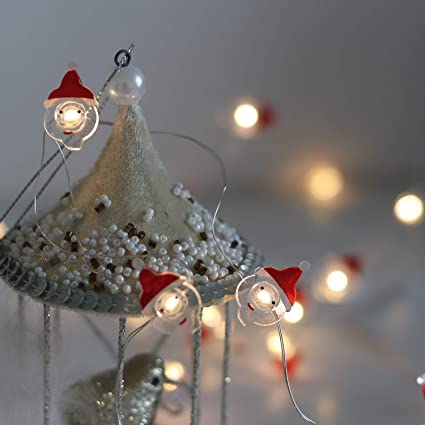 Amazon.com: Battery Operated Christmas Lights Decorative String ...