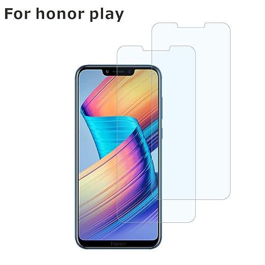 BESTCASESKIN [2-Pack Protector Pantalla Huawei Honor Play, Cristal ...