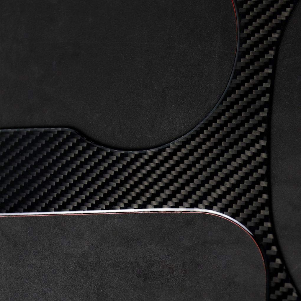 Topker Carbon Fiber Left Driving Shift Panel Bezel Cover Trim Replacement for Mustang 2015-2017 Car Interior Decor by Topker (Image #6)