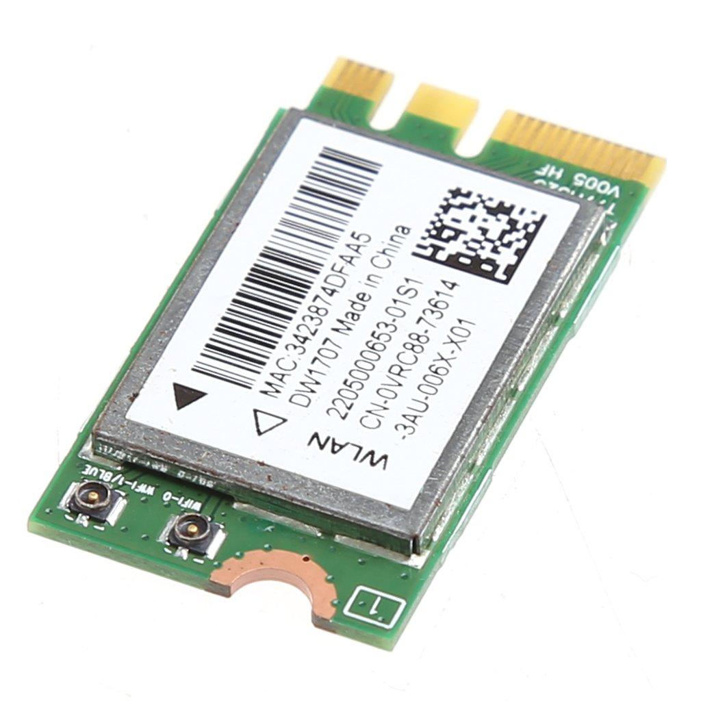 MIUSON 300M Wireless Bluetooth NGFF WIFI Card For Dell DW1707 VRC88 Qualcomm QCNFA335