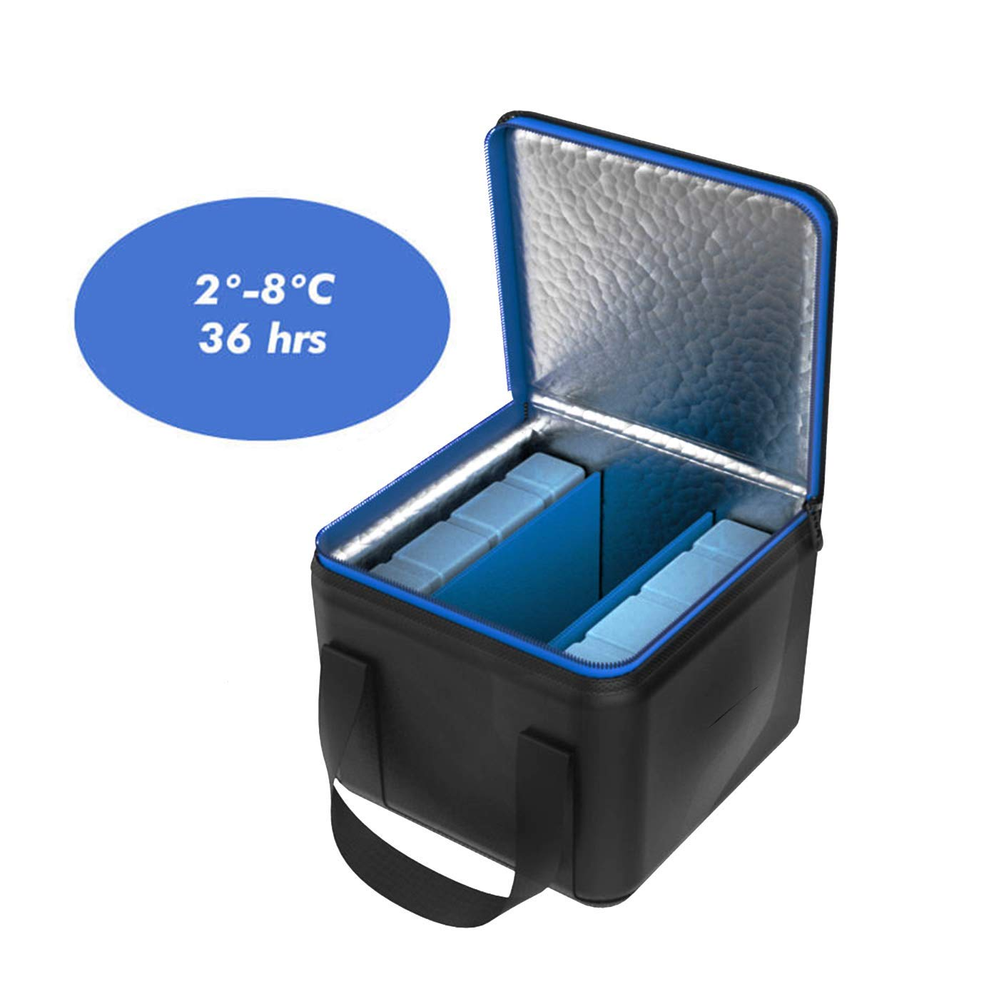 iCool MediCube Store Your Insulin and Temperature Sensitive Medications for 36 Hours