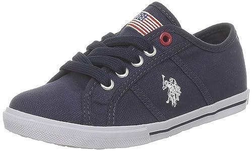 US Polo Assn Bange2 Bange2_Bleu (Dkbl) - Zapatillas de Deporte de ...