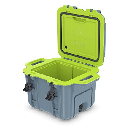 best website d7509 8c4e2 OtterBox Venture Cooler 25 Quart - Frosty Dew (Citadel Blue/Acid Lime Green)