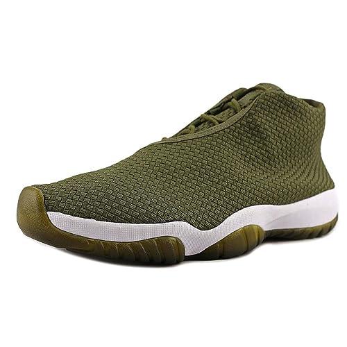 Hombre Nike Air Jordan Futuro Verde Oliva Zapatillas