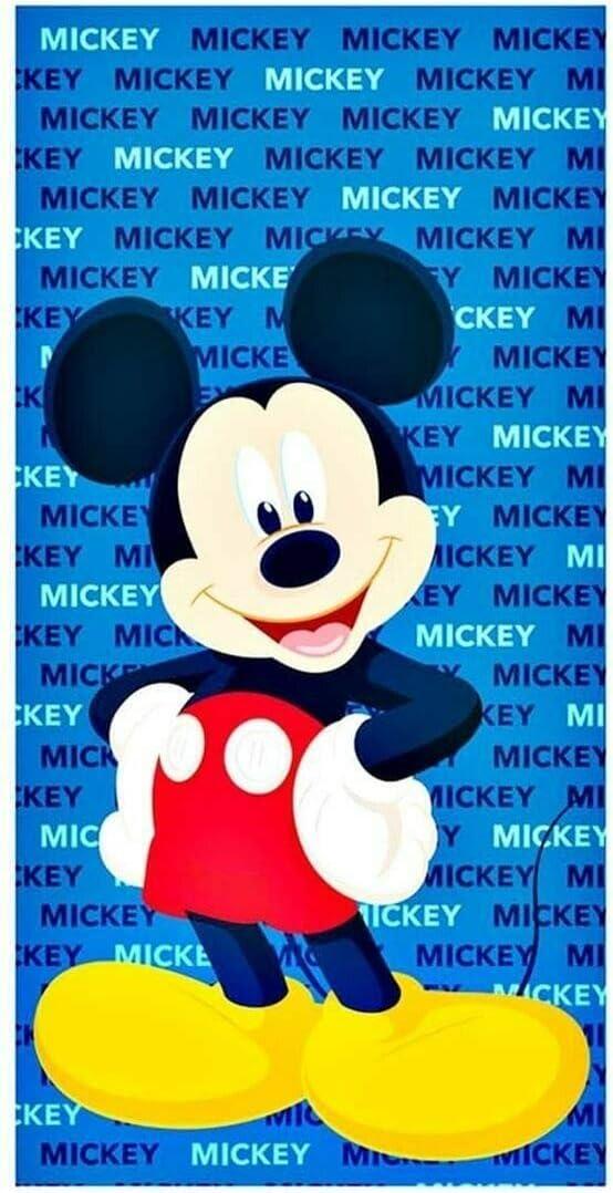 Licorne Drap de Plage Mickey Serviette de Bain Disney Microfibre Fast Dry