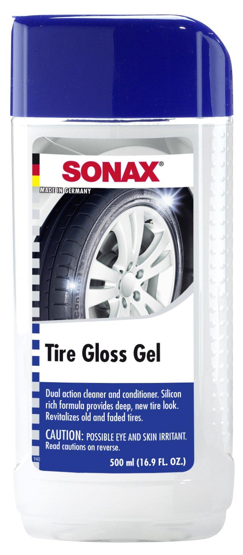 amazon com sonax 235200 755 tire gloss gel 16 9 fl oz