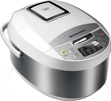 Redmond Multicooker RMC-M4500E, 700 W, 5 litros, 60 Decibelios ...