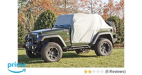 Cab Cover Top Weather Lite for Jeep Wrangler JK JL 2007-2018 2 Door RuggedRidge