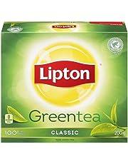 Lipton Pure Green Tea Bags 100 Count