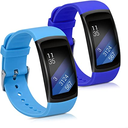 kwmobile 2X Pulsera para Samsung Gear Fit2 / Gear Fit 2 Pro ...