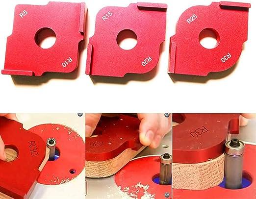 NOBGP 3Pack Mesa de fresadora de Aluminio Carpintero Esquina de ...