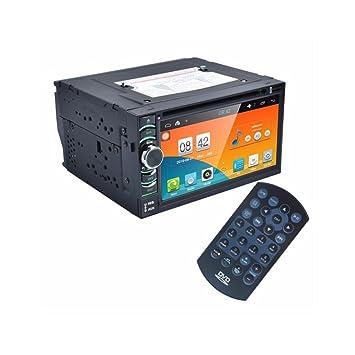 Lacaca 2 DIN Radio de coche Android 4.4 Stereo Car Dvd Pc reproductor GPS Navi En