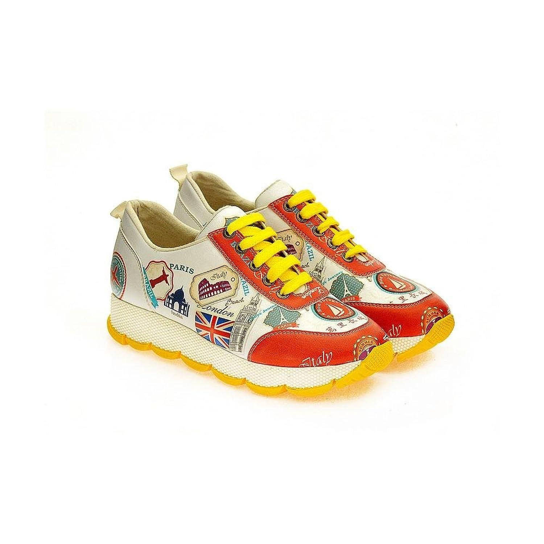 Goby UK Zapatillas de Mujer (SPS100-101-102-200-201-202) 38 EU