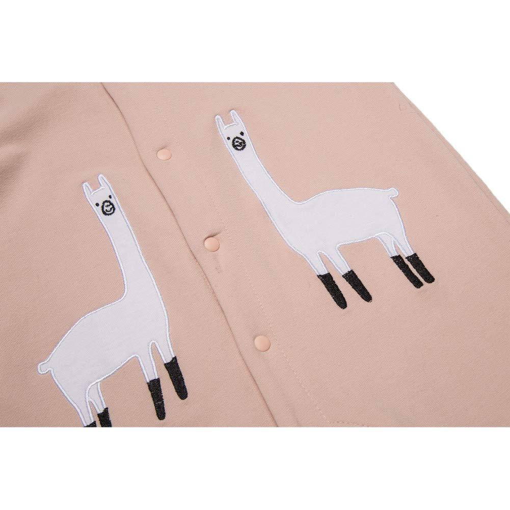Teeker Unisex Baby Onesies Cotton Bodysuit Long Seleeve Alpaca Print Baby Outfit by Teeker (Image #4)