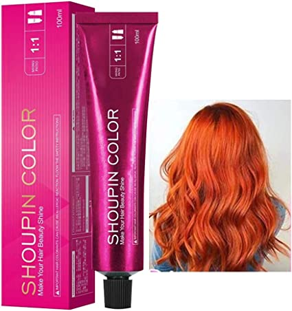HEREB Tinte para el cabello-100ml Crema para teñir el Cabello ...