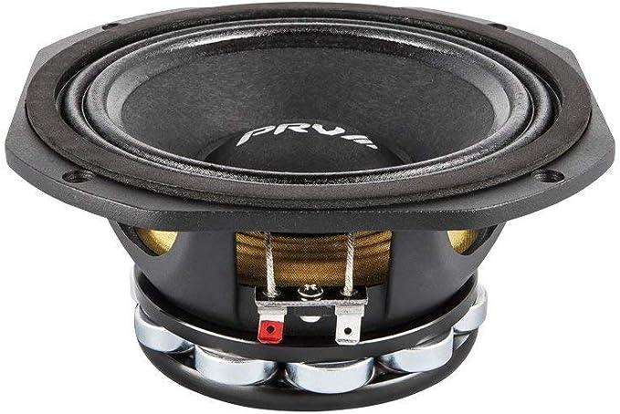 """2x PRV Audio 6MR500-NDY Mid Range Neodymium 6.5/"""" Speaker 8 ohm 6 PRO Neo 1000W"""