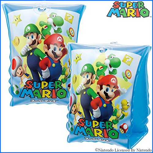 SUPER MARIO Inflatable Arm Bands for Swimming