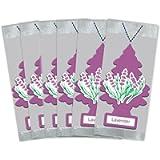 Little Trees Car Air Freshener 6-Pack (Lavender)