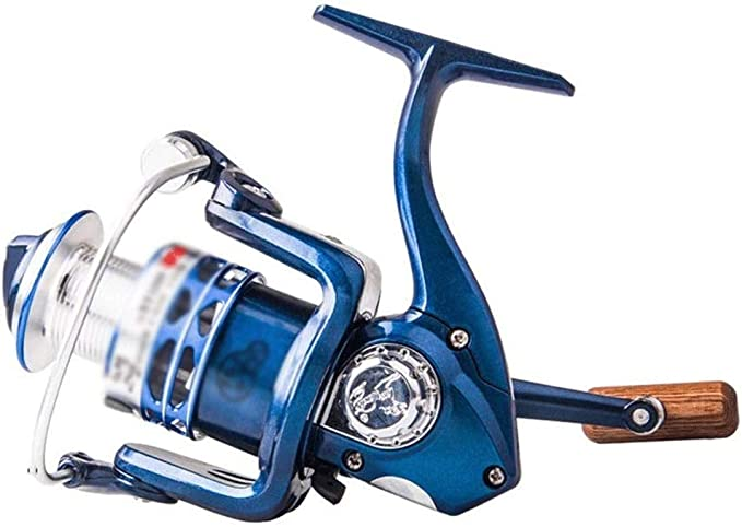 Wxt Pesca Spinning Wheel Carrete Pequeño Mini Frontal de Descarga ...