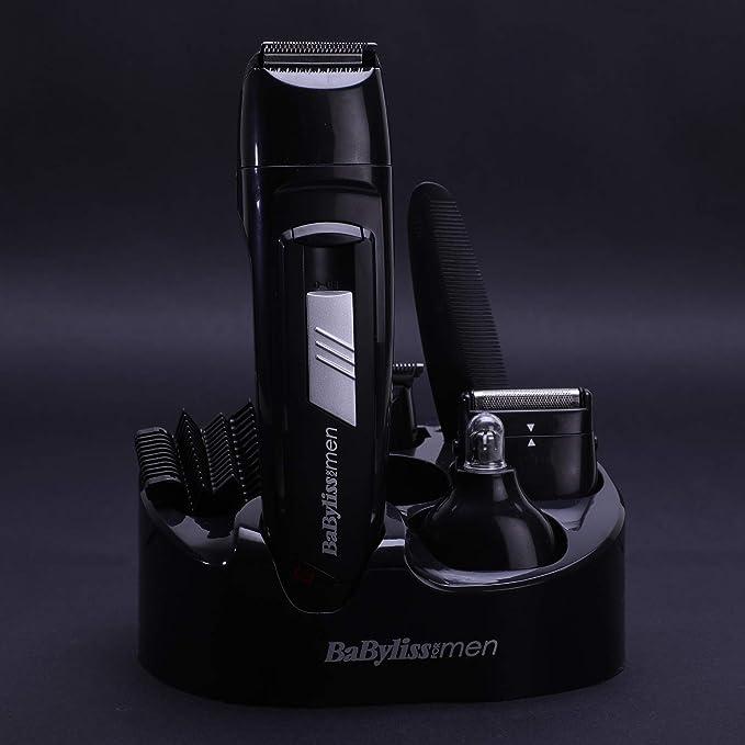 BaByliss E824E - Kit cortapelos con 8 funciones, cuchillas de ...