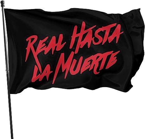LL-Shop Real hasta La Muerte Camisa Anuel AA Trap Flags 3x5 ...