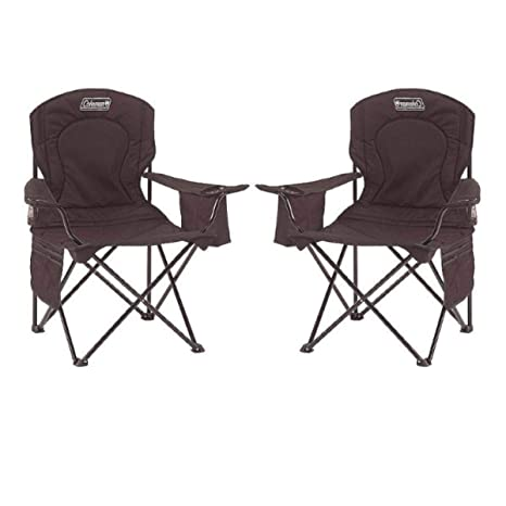Amazon.com: Coleman Oversized Quad Chair with Cooler Pouch ...