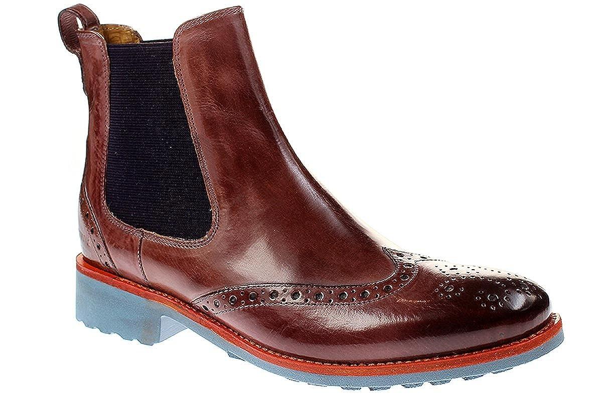 Melvin & Hamilton Amelie 5 - Damen Schuhe Stiefletten Chelsea Stiefel - lilarock