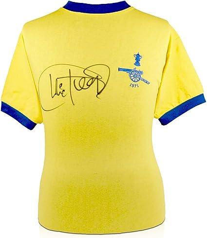 Camiseta del Arsenal (final de la FA Cup, firmada por Charlie ...