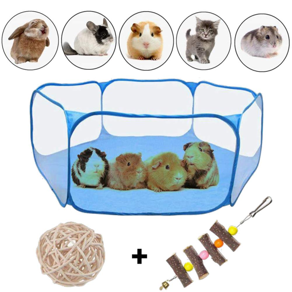 VCZONE Small Animals Foldable Exercise Playpen