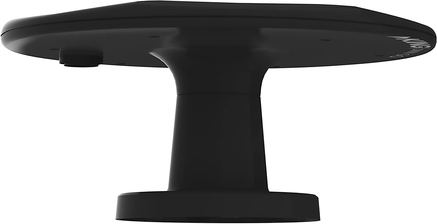 KING OA1501 OmniGo Portable Omnidirectional HDTV Over-the-Air Antenna Black