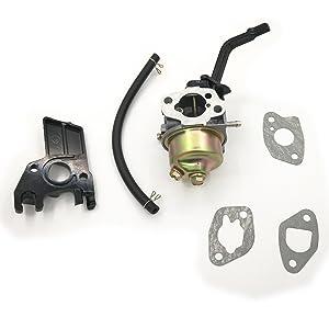 Cancanle Carburador con Junta Barra de Choque Espaciador Aislante Manguera de Aceite para Honda GX160 GX200 168F 5.5-6.5HP 2KW 196cc 163cc generador de Motor