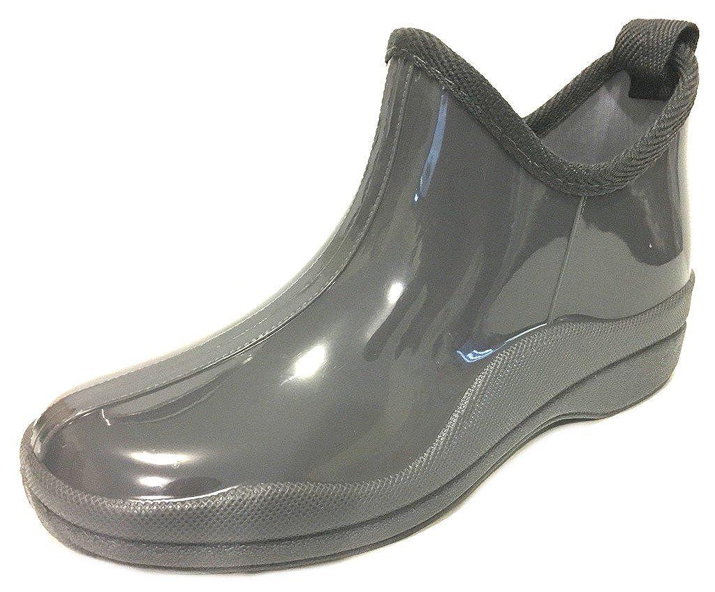 sh18es Shoes8teen Womens Short Rain Boots Prints & Solids